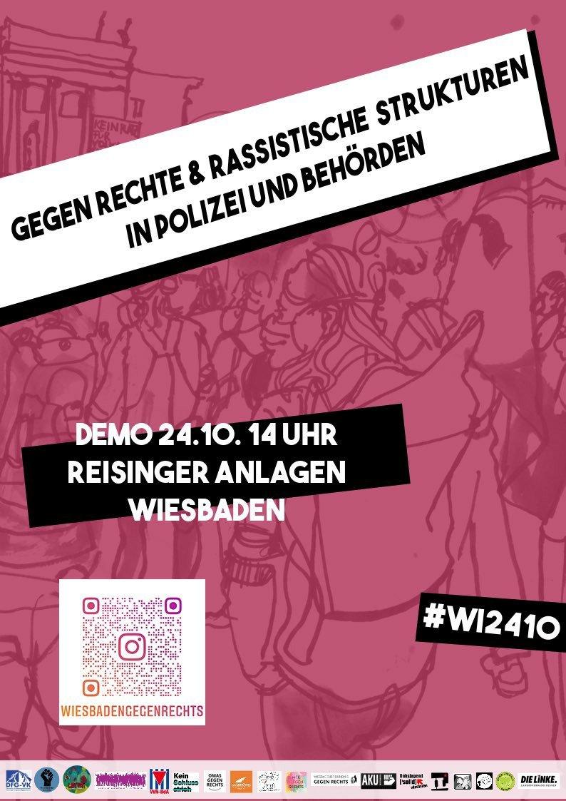 #wi2410 - Großdemo in Wiesbaden